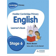 Hodder Cambridge Primary English: Learner's Book Stage 6 (BOK)