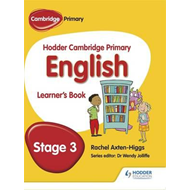 Hodder Cambridge Primary English: Learner's Book Stage 3 (BOK)