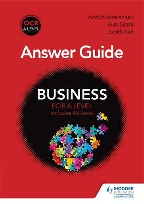OCR Business for A Level Answer Guide (BOK)