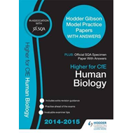 SQA Specimen Paper 2014 Higher for CFE Human Biology & Hodde (BOK)