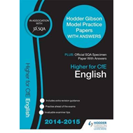 SQA Specimen Paper 2014 Higher for CFE English & Hodder Gibs (BOK)