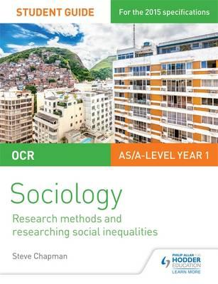 OCR Sociology Student Guide 2: Researching and Understanding (BOK)