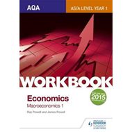 AQA AS/A-Level Economics Workbook Section 2: The national ec (BOK)