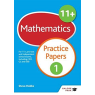 11+ Maths Practice Papers 1 (BOK)