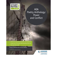 Study and Revise for GCSE: AQA Poetry Anthology: Power and C (BOK)
