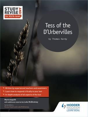 Study and Revise for AS/A-level: Tess of the D'Urbervilles (BOK)