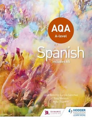 AQA A-level Spanish (includes AS) (BOK)