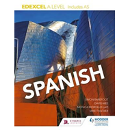 Edexcel A level Spanish (includes AS) (BOK)