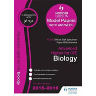Advanced Higher Biology 2015/16 SQA Specimen and Hodder Gibs (BOK)