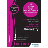 Advanced Higher Chemistry 2015/16 SQA Specimen and Hodder Gi (BOK)