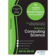 National 5 Computing Science 2015/16 SQA Past and Hodder Gib (BOK)