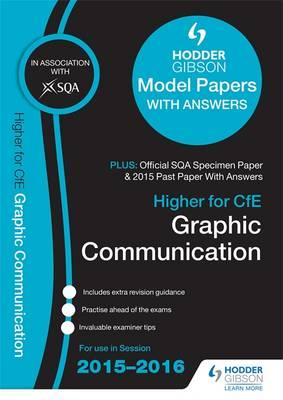 Higher Graphic Communication 2015/16 SQA Specimen, Past and (BOK)