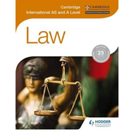 Cambridge International AS and A Level Law (BOK)