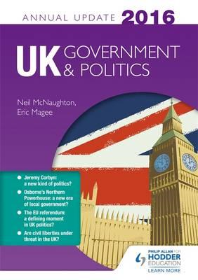 UK Government & Politics Annual Update 2016 (BOK)