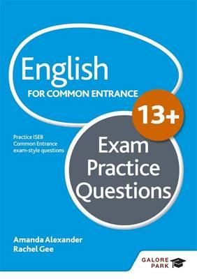 English for Common Entrance at 13+ Exam Practice Questions (BOK)