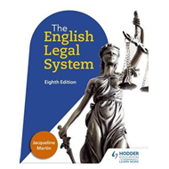 English Legal System Eighth Edition (BOK)