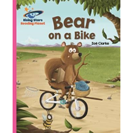 Reading Planet - Bear on a Bike - Pink B: Galaxy (BOK)