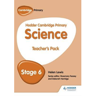 Hodder Cambridge Primary Science Teacher's Pack 6 (BOK)