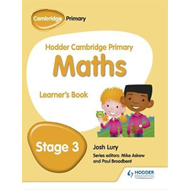 Hodder Cambridge Primary Maths Learner's Book 3 (BOK)