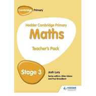 Hodder Cambridge Primary Maths Teacher's Pack 3 (BOK)