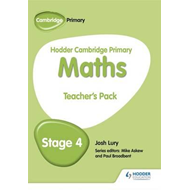 Hodder Cambridge Primary Maths Teacher's Pack 4 (BOK)