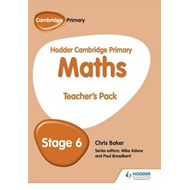 Hodder Cambridge Primary Maths Teacher's Pack 6 (BOK)