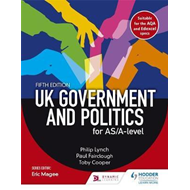 UK Government and Political Participation for AS/A Level (BOK)