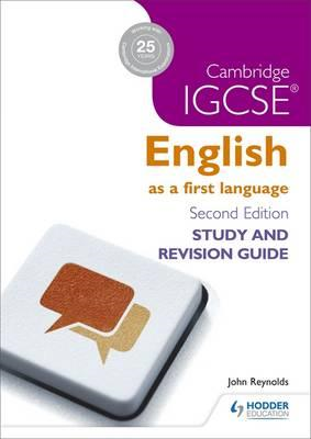 Cambridge IGCSE English First Language Study and Revision Gu (BOK)