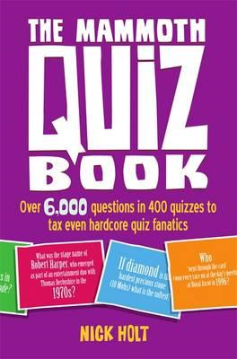 Mammoth Quiz Book (BOK)