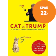 Produktbilde for Cat vs Trump - An intelligence test for cats with low self-esteem (BOK)