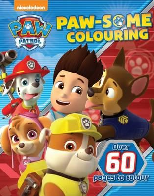 Nickelodeon Paw Patrol Paw-Some Colouring (BOK)