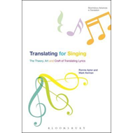 Translating For Singing (BOK)