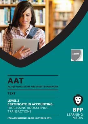 AAT Processing Bookkeeping Transactions (BOK)