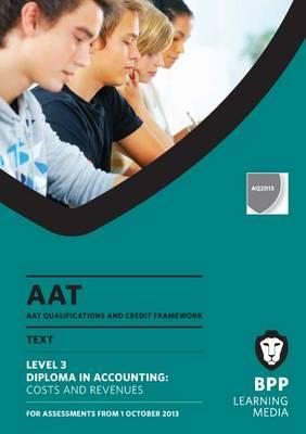 AAT Costs and Revenues: Study Text (BOK)