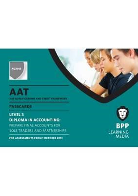 AAT Prepare Final Accounts for Sole Traders and Partnership: Passcards (BOK)