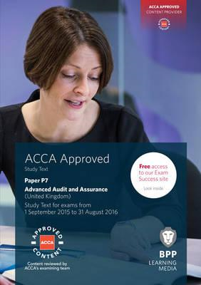 ACCA P7 Advanced Audit and Assurance (UK) (BOK)