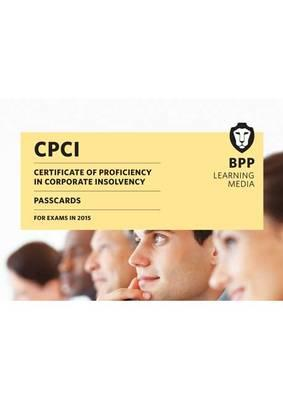 CPCI Certificate of Proficiency in Corporate Insolvency (BOK)