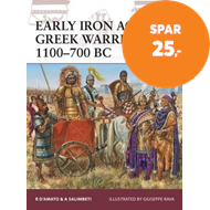 Produktbilde for Early Iron Age Greek Warrior 1100-700 BC (BOK)