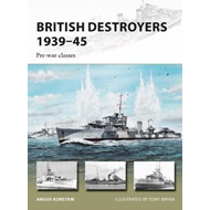 British Destroyers 1939-45 (BOK)