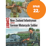 Produktbilde for New Zealand Infantryman vs German Motorcycle Soldier (BOK)