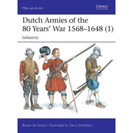 Produktbilde for Dutch Armies of the 80 Years' War 1568-1648 1 (BOK)