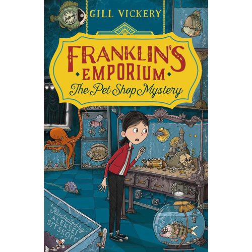 Franklin's Emporium: The Pet Shop Mystery (BOK)