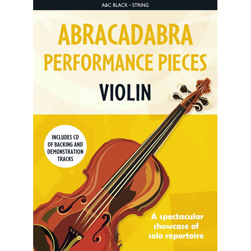 Abracadabra Performance Pieces - Violin (BOK)
