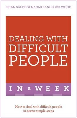 Dealing with Difficult People in a Week (BOK)