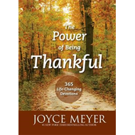 Produktbilde for The Power of Being Thankful - 365 Life Changing Devotions (BOK)