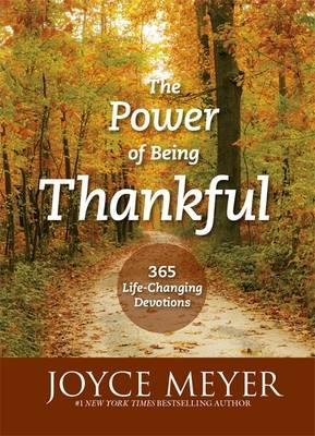 Power of Being Thankful (BOK)