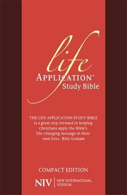NIV Compact Life Application Study Bible (Anglicised) (BOK)