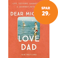 Produktbilde for Dear Michael, Love Dad (BOK)