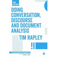 Doing Conversation, Discourse and Document Analysis (BOK)