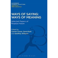 Ways of Saying, Ways of Meaning (BOK)